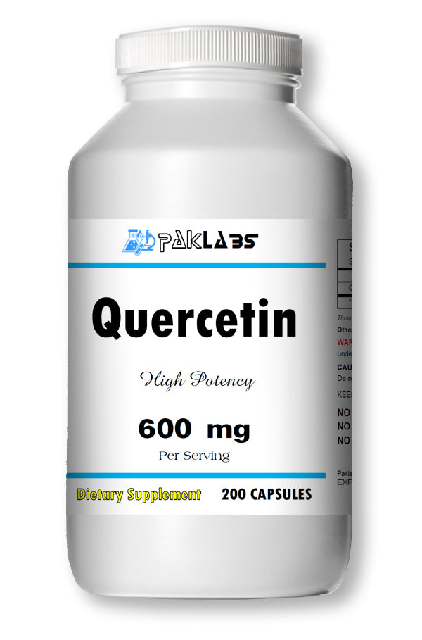 Quercetin 600mg Serving High Potency 200 Capsule USA SHIPPING GREAT DEAL PL