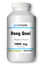 Load image into Gallery viewer, Dong Quai 900mg Serving High Potency Big Bottle 200 Capsules PL