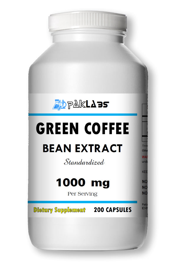Green Coffee Bean Extract Chlorogenic Acid 1000mg Weight Loss 200