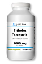 Load image into Gallery viewer, Tribulus Terrestris Extract 1000mg High Potency 200 Capsules Big Bottle NEW STOCK PL