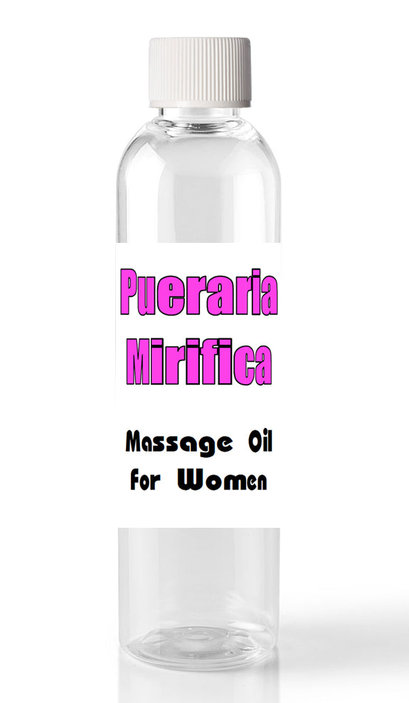 Pueraria Mirifica Breast and Butt Enhancement Oil - 2oz (60ml) Massage Oil for Women TS