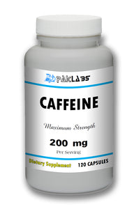 Caffeine High Potency 200mg High Potency Big Bottle 120 Capsules PL