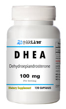 Load image into Gallery viewer, DHEA 100mg Serving High Potency Big Bottle 120 Capsules PL