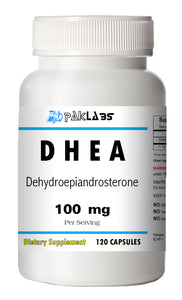 DHEA 100mg Serving High Potency Big Bottle 120 Capsules PL