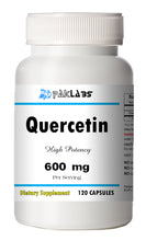 Load image into Gallery viewer, Quercetin 600mg Serving High Potency 120 Capsule USA SHIPPING GREAT DEAL PL