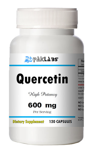 Quercetin 600mg Serving High Potency 120 Capsule USA SHIPPING GREAT DEAL PL