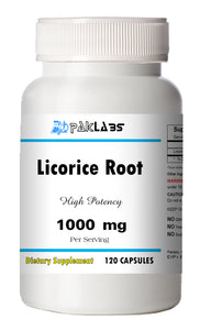 Licorice Root 1000mg Per Serving 120 Capsules Big Bottle USA Shipping PL