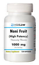 Load image into Gallery viewer, Noni Fruit (Morinda Citrifolia) 120 Capsules 1000mg Serving High Potency BOTTLE PL