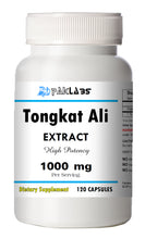 Load image into Gallery viewer, Tongkat Ali 1000mg High Potency 120 Capsules Eurycoma Longifolia Longjack PL