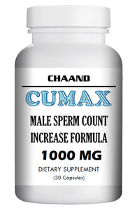 CUMAX - SEX PILLS FOR MEN - INCREASE EJACULATION LOAD VOLUME - NATURAL DIETARY SUPPLEMENT 30 Pills