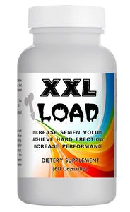 XXL LOAD - SEX PILLS FOR MEN - INCREASE EJACULATION LOAD VOLUME - NATURAL DIETARY SUPPLEMENT 60 Pills