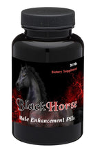 Load image into Gallery viewer, BLACK HORSE - PREMIUM HIGH END SEX PILLS FOR MEN - NATURAL DIETARY SUPPLEMENT 30 Pills