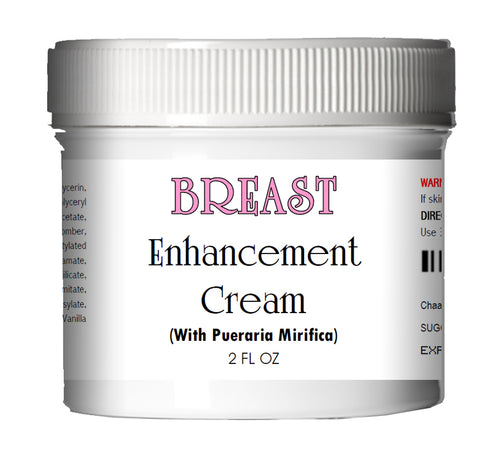 Breast Enhancement Cream with Pueraria Mirifica (Large Jar) 2.0 oz