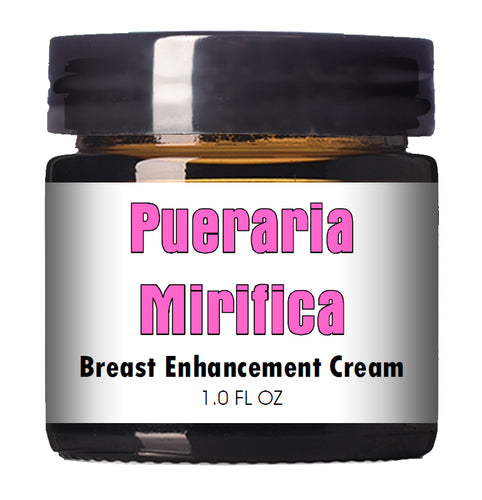 Pueraria Mirifica Breast Enhancement Cream 1.0 FL OZ Jar