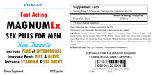 Load image into Gallery viewer, MAGNUM LX - BEST MALE ENHANCEMENT PENIS ENLARGEMENT SEX PILLS 240 Pills 2x Bottles