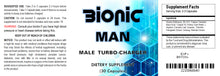 Load image into Gallery viewer, BIONIC MAN - SEX PILLS FOR MEN - INCREASE ENERGY AND STAMINA - NATURAL DIETARY SUPPLEMENT 90 Pills 3 Bottles