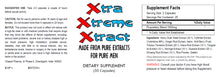 Load image into Gallery viewer, XXX Xtra Xtream Xtract - SEX PILLS FOR MEN - BE READY 24x7 - NATURAL DIETARY SUPPLEMENT 100 Pills 2x Bottles