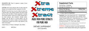 XXX - Xtra Xtream Xtract - SEX PILLS FOR MEN - BE READY 24x7 - NATURAL DIETARY SUPPLEMENT 50 Pills