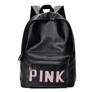 PINK Black Grey Print Backpack Waterproof Gym Bag Men Women Fitness Durable Handbag Training Travel Sport Bags