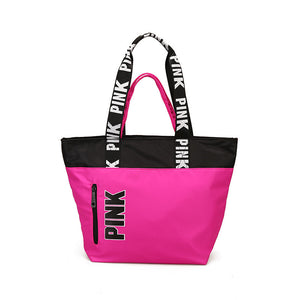 Oxford PINK Multifunctional Outdoor Women Sport Bag Training Gym Bag Women's Sports Handbags Fitness Bag for Women Yoga Mat Bag