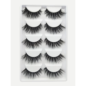 Natural Thick False Eyelashes - Forever Fearless Mag