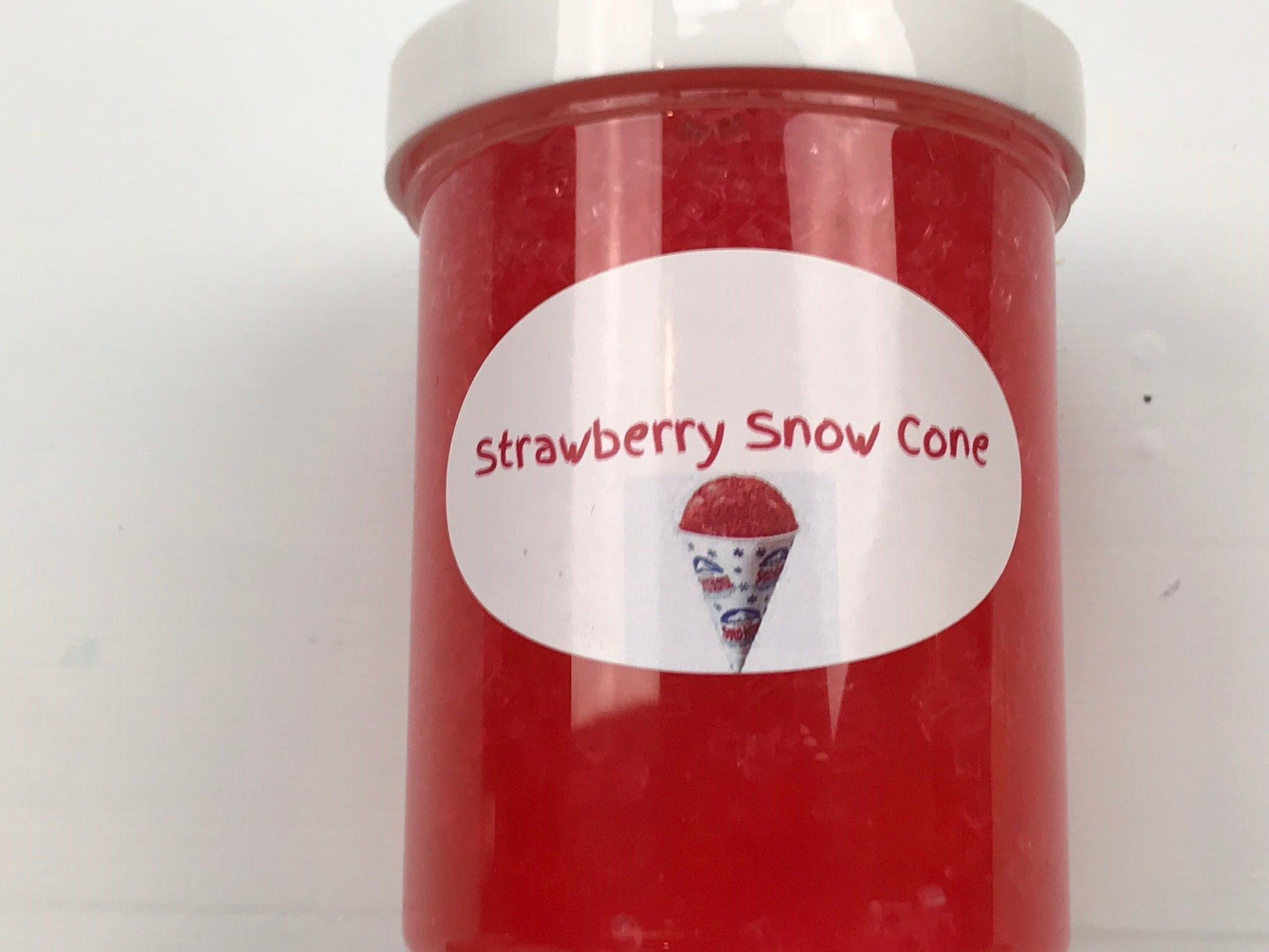 Strawberry Snowcone