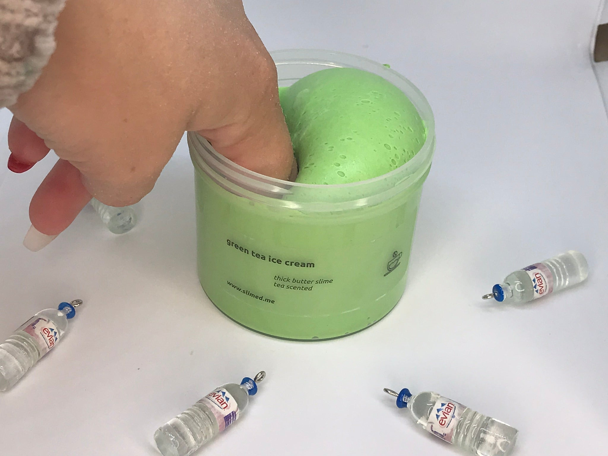 Green Tea Ice Cream Butter Slime
