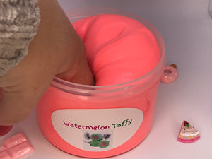 Watermelon Taffy Clay Slime