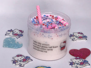 Hello Kitty Unicorn Thick Slime