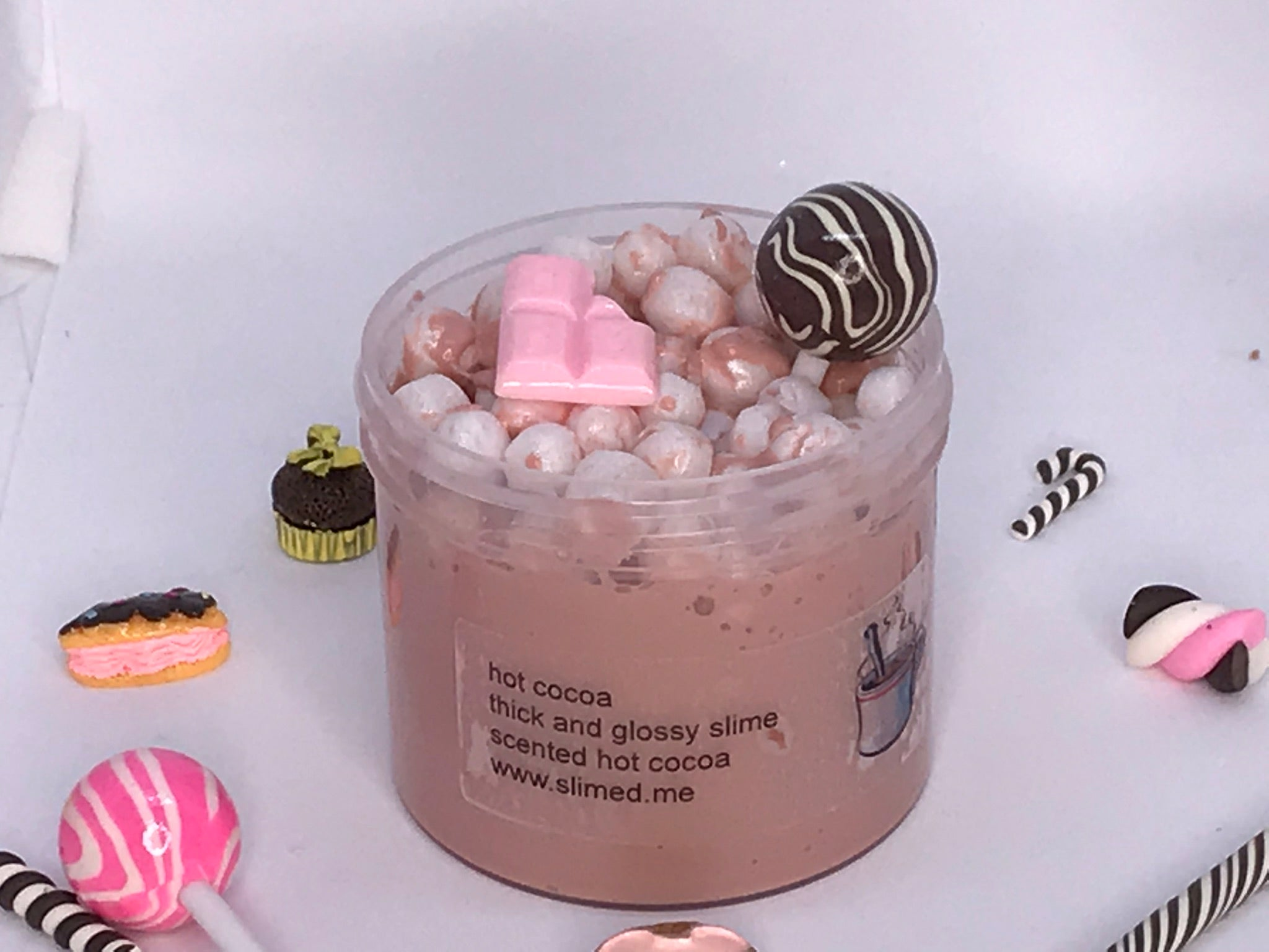 Hot Cocoa Thick Glossy Slime