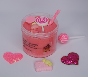Strawberry Cheesecake Butter Slime