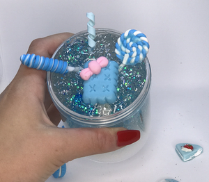 Snow Globe Clear Slime
