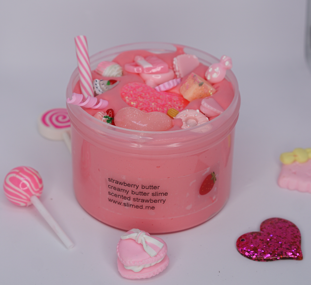 Strawberry Butter Slime