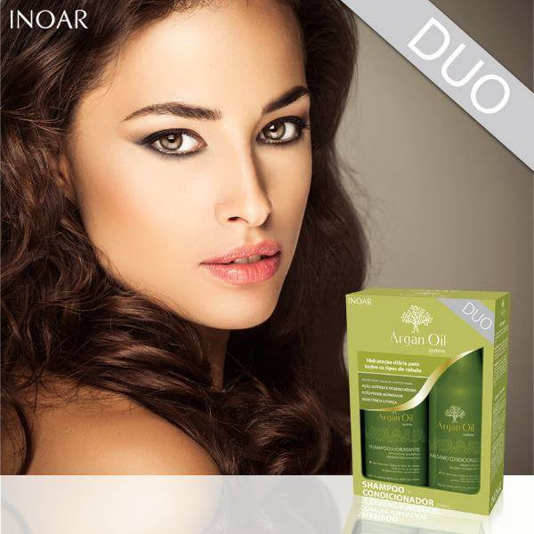 Inoar Home care argan Shampoo and condition