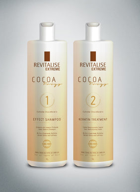 Revitalise Brasil KERATIN CACAU KIT 1000ml (ON SALE NOW)