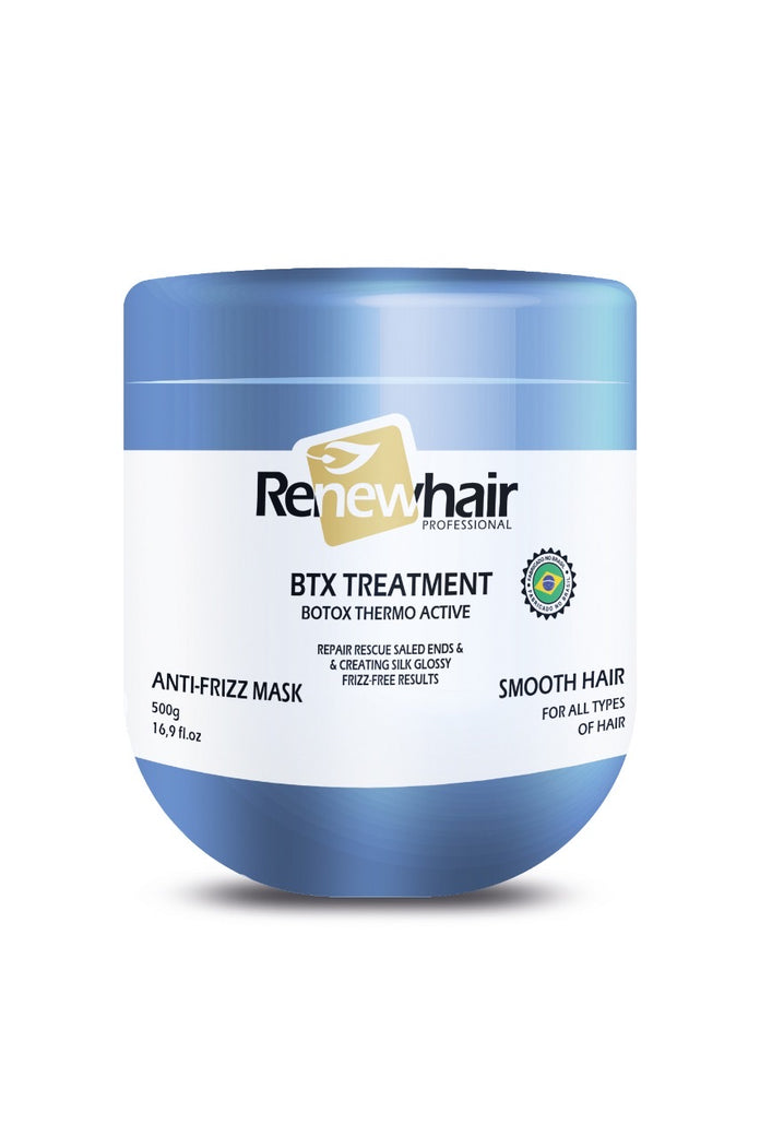 BTX Treatement Thermo ACTIVE 500gr ANTI-FRIZZ