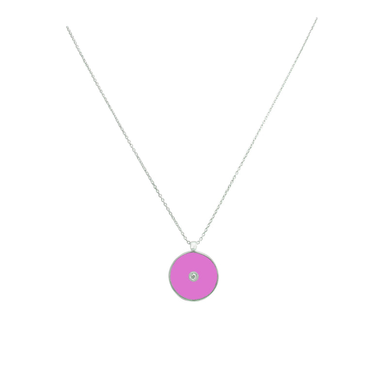 White Gold Ethos Necklace