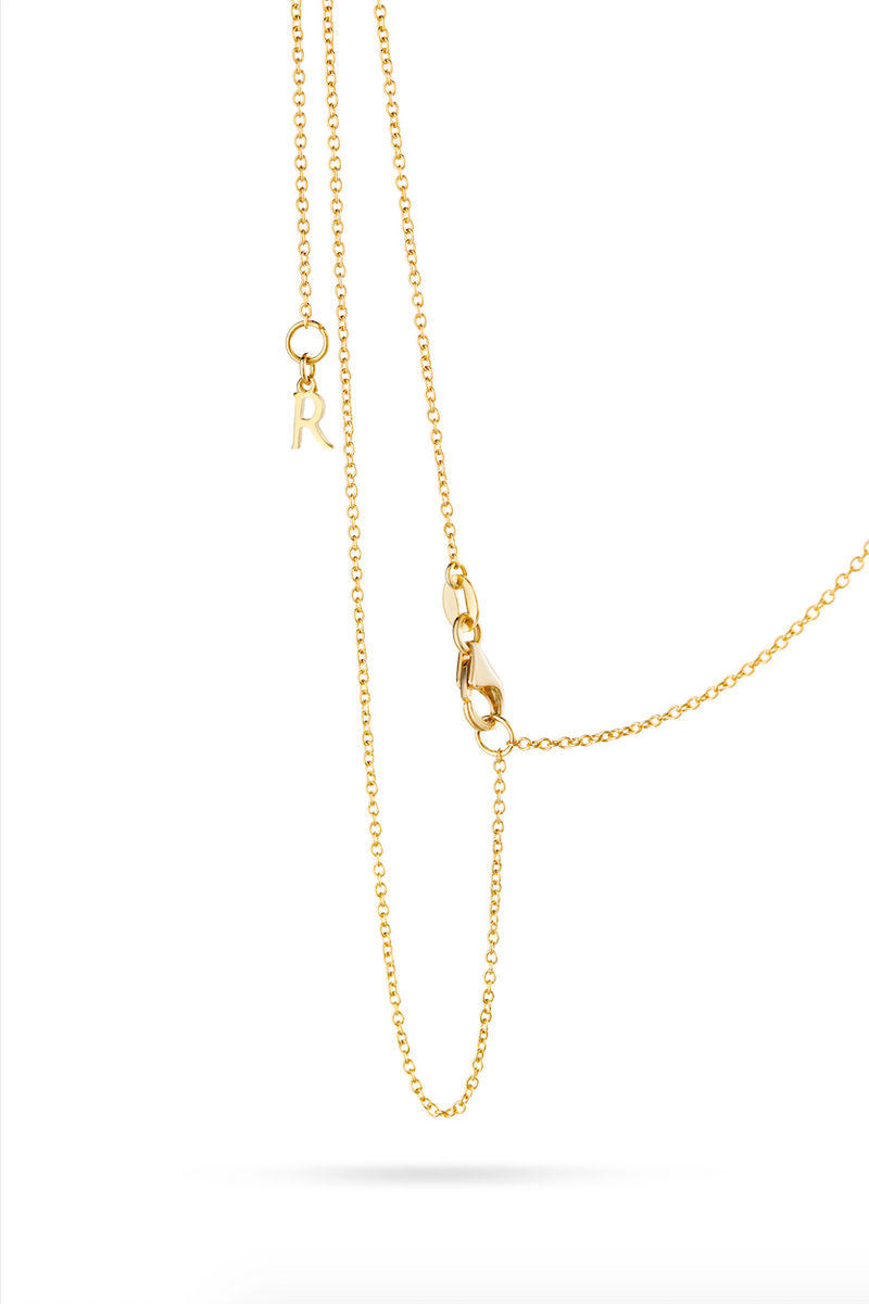 Yellow Gold Ethos Necklace