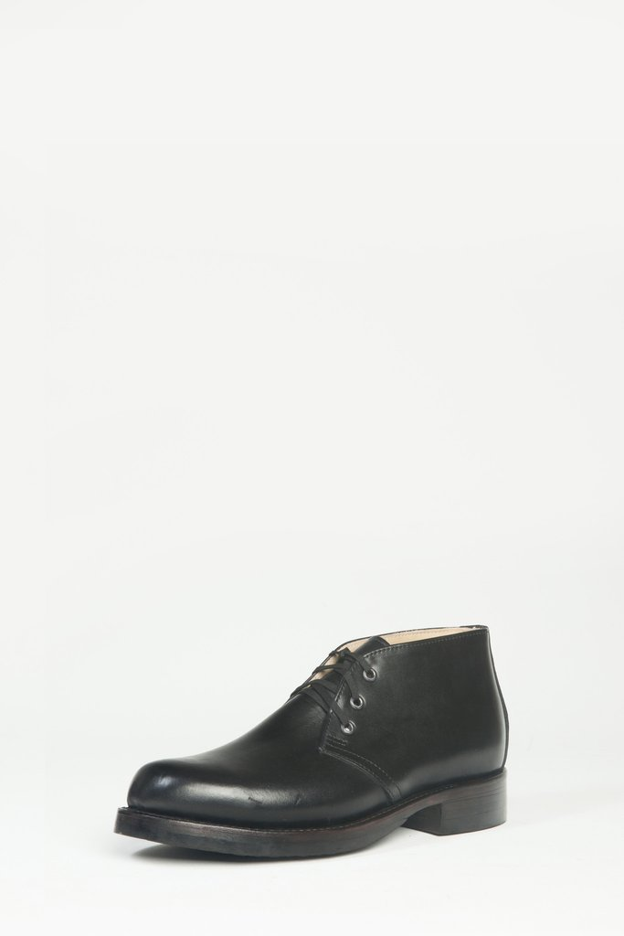 Chukka Leather - Black