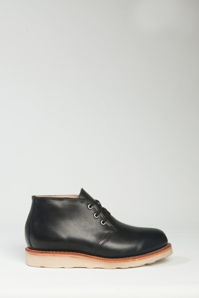 Chukka Rubber Sole - Black