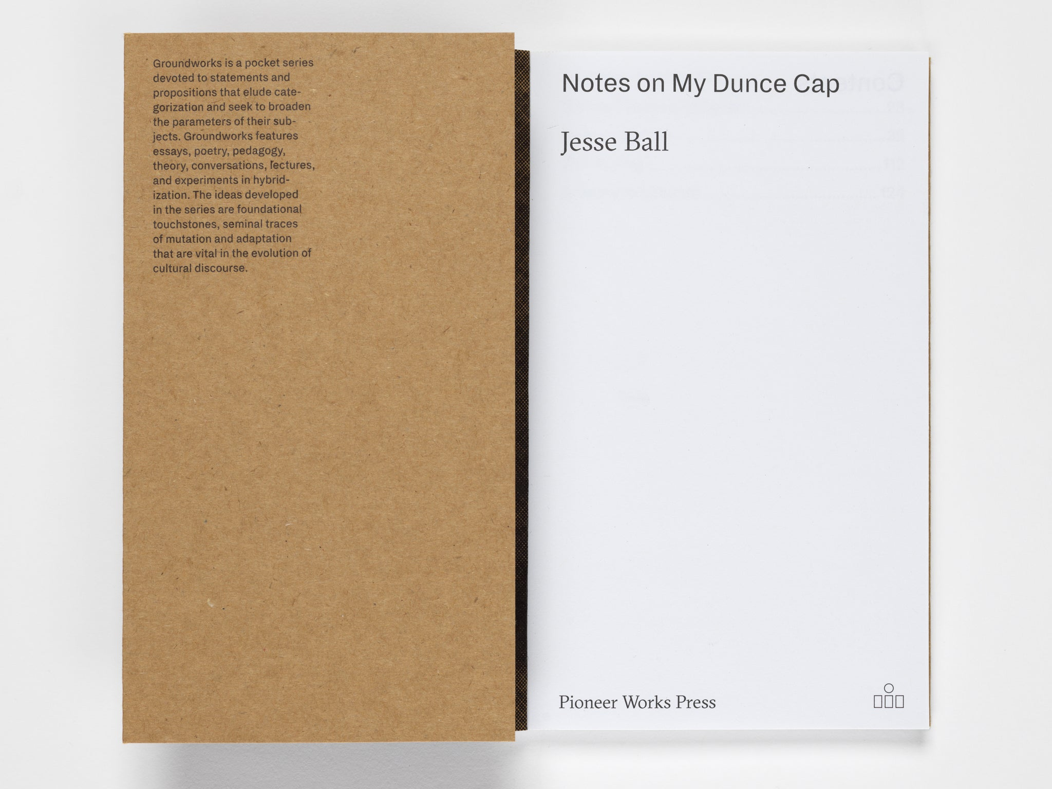 Notes on My Dunce Cap