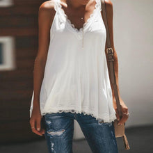 Load image into Gallery viewer, Lace V-Neck Camis