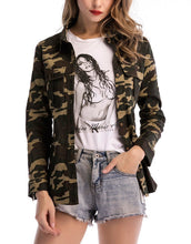 Load image into Gallery viewer, Fashion Camouflage Jackets
