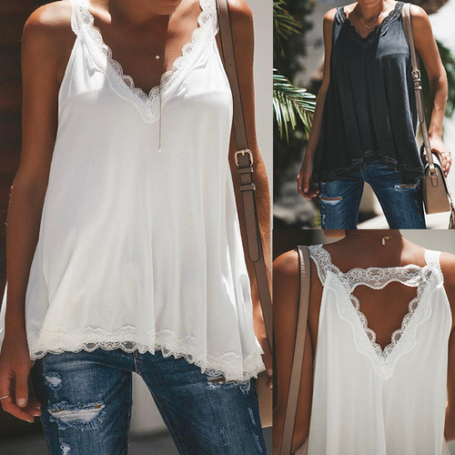 Lace V-Neck Camis