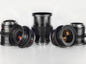 Set of 5 Leica-R's
