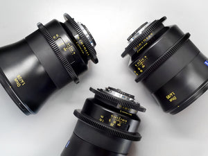 Partial Cine-Mod: Zeiss ZF.2 Otus Set