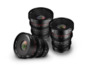 Meike Cinema Prime 3-Lens Kit - Sony E