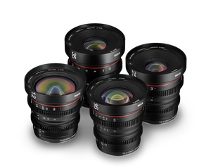 Meike Cinema Prime Set 4-Lens Kit