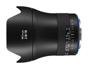 Zeiss Milvus ZE 18mm f/2.8 Distagon
