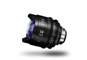 SIGMA CINE 14mm T2.0 (C) 2018 Duclos Lenses, Inc.